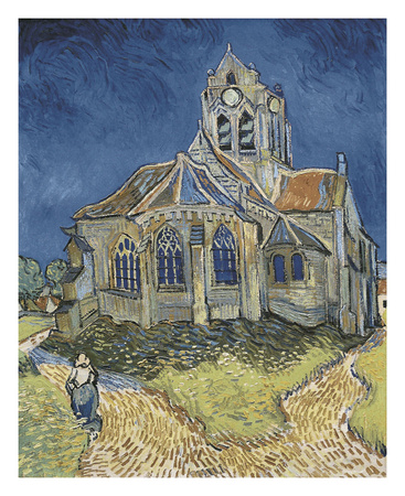 The Church at Auvers Poster by Vincent van Gogh