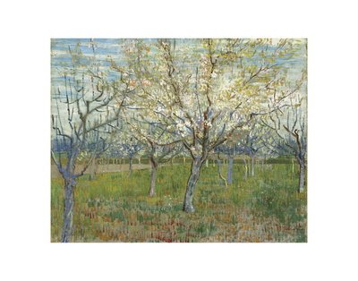The Pink Orchard, 1888 Prints by Vincent van Gogh