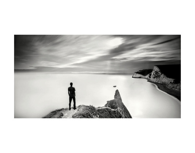 The Man and the Sea, Study 4 Prints by Marcin Stawiarz