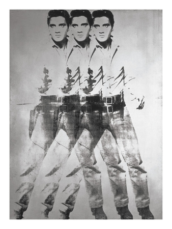 Triple Elvis®, 1963 Posters by Andy Warhol