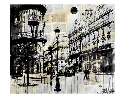 French Quarter Posters by Loui Jover