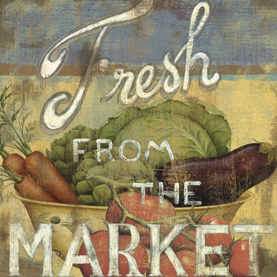 From the Market IV Prints by  Daphné B