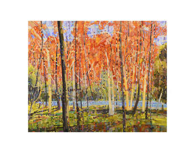 Forest Glow Prints by Jean Cauthen