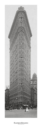 Flatiron Building Posters by  NY Buildings