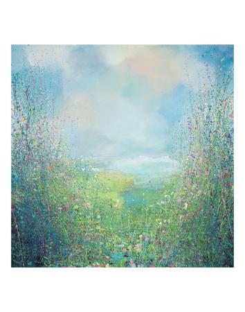 Flower Field Prints by Sandy Dooley