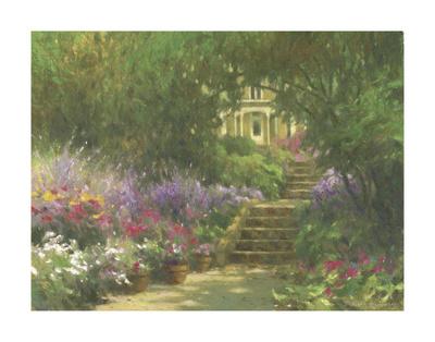 Garden Steps Art by Allan Myndzak