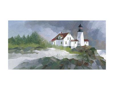 Harbor Sentinel Art by Albert Swayhoover