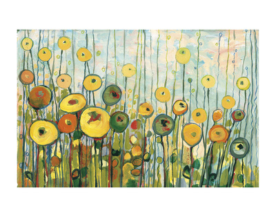 I'll Meet You For Martinis in the Poppy Garden Prints by Jennifer Lommers