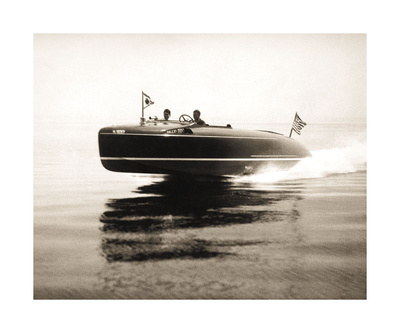 Lake Cruiser Posters by  Vintage Photography