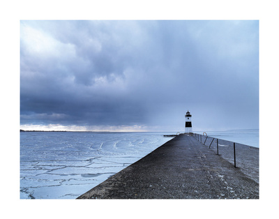 Lonely Lighthouse Prints by Derek Jecxz