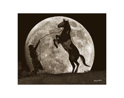 Moon Dance Prints by Barry Hart