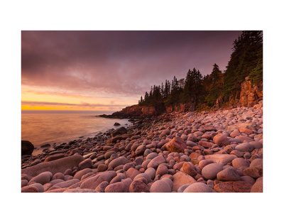 Morning, Monument Cove Prints by Michael Hudson