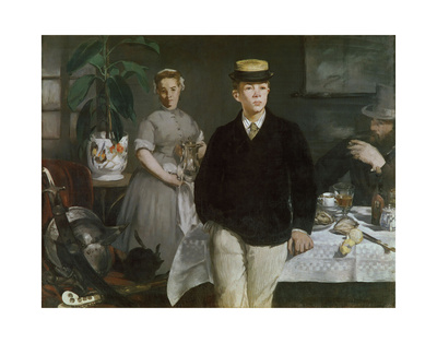 Luncheon in the Studio, 1868 Prints by Édouard Manet