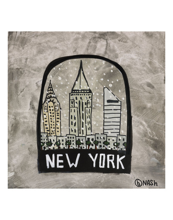 New York Snow Globe Posters by Brian Nash