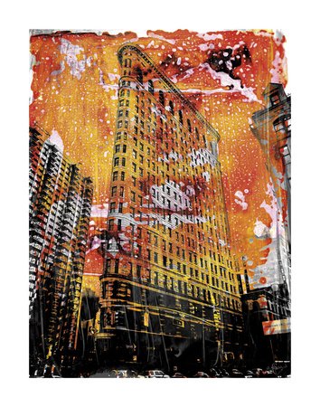 New York Color V Posters by Sven Pfrommer