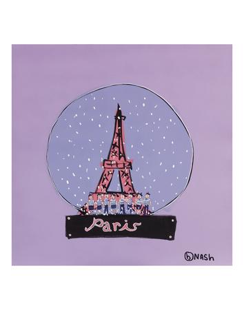 Paris Snow Globe Prints by Brian Nash