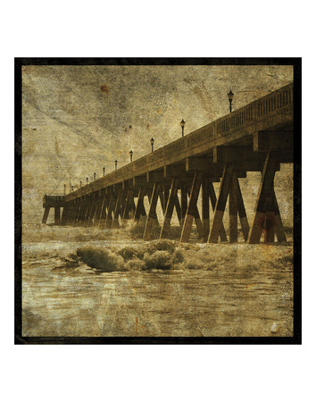 Ocean Pier No. 2 Posters by John W. Golden