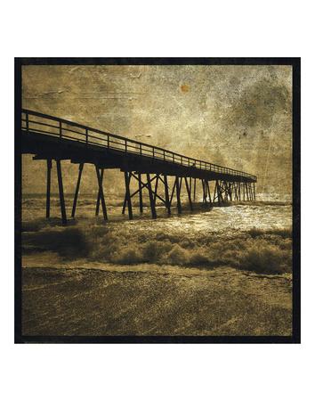 Ocean Pier No. 3 Poster by John W. Golden