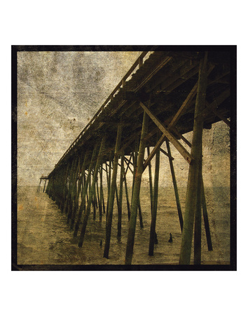 Ocean Pier No. 1 Posters by John W. Golden