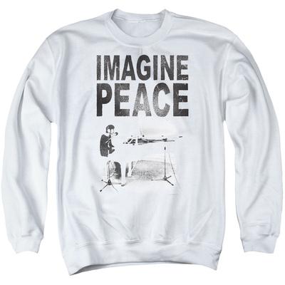 Crewneck Sweatshirt: John Lennon- Imagine Peace T-Shirt