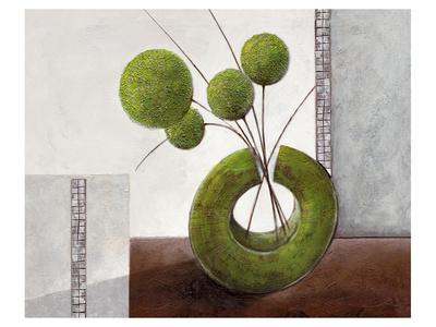 Arrangement in Green I Prints by Karsten Kirchner