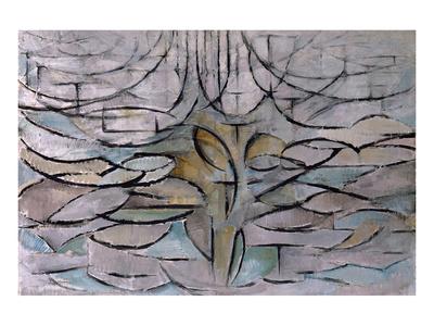 Flowering Apple Tree Premium Giclee Print by Piet Mondrian