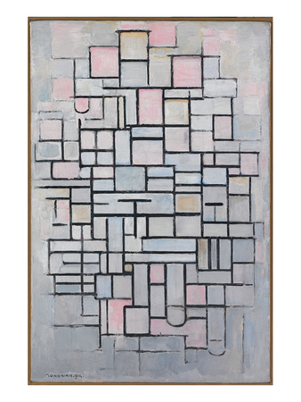 Composition No. IV Prints by Piet Mondrian