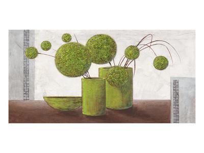 Brimming Green Balloons Posters by Karsten Kirchner