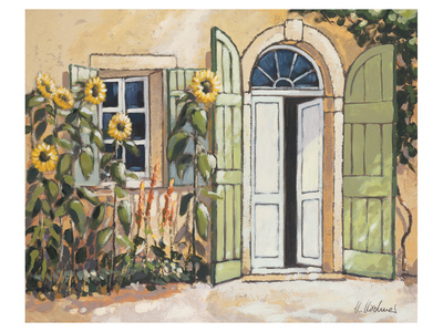 Fattoria di Angelo Doorway Art by Karsten Kirchner