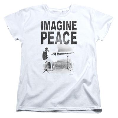 Womens: John Lennon- Imagine Peace Shirts