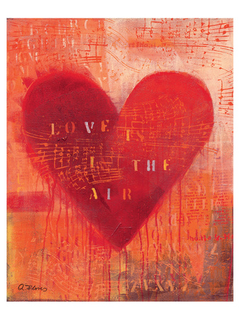 Love is in the Air Prints by Anna Flores