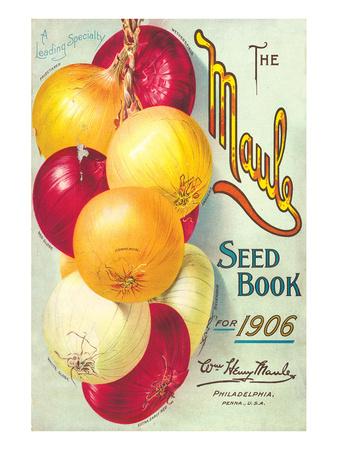 Maule Seed Book Philadelphia Prints