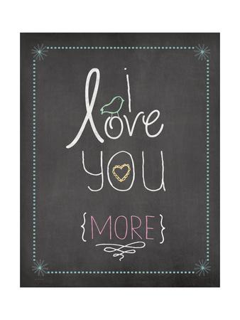 I Love You Prints by Jo Moulton!
