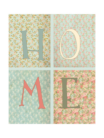 Shabby Chic Home Poster by Tara Moss