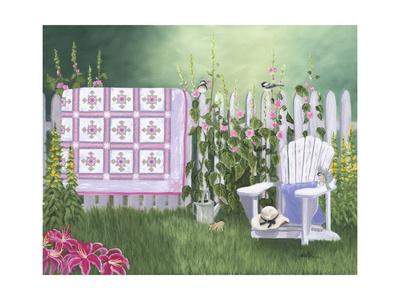 Floral Sunburst Quilt Prints by Julie Peterson