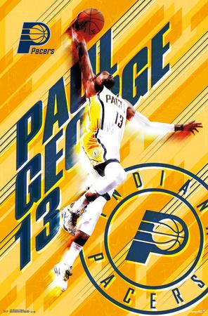 Indiana Pacers- Paul George 2015 Print