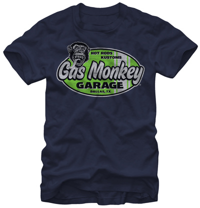 Gas Monkey- Surf And Turf T-shirts