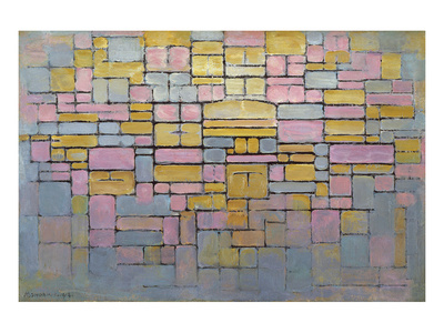 Tableau No. 2 Posters by Piet Mondrian