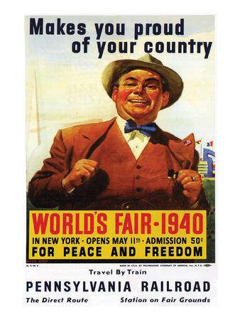 World's Fair 1940 Láminas