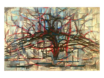 the Gray Tree 1912 Prints by Piet Mondrian