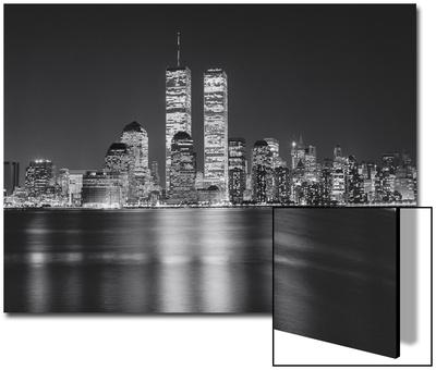 Manhattan, World Financial Center, Night - New York City, Landmarks at Night Art by Henri Silberman