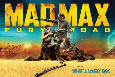 Mad Max- Fury Road Affischer