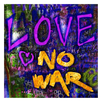 Graffiti Love Prints by Diane Stimson