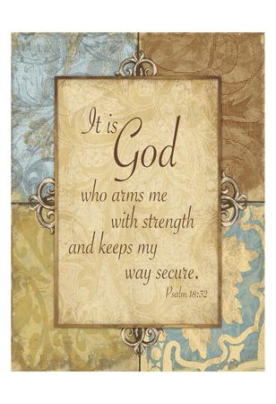 God Strength Art by Jace Grey