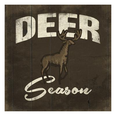 Deer Season Posters by Jace Grey