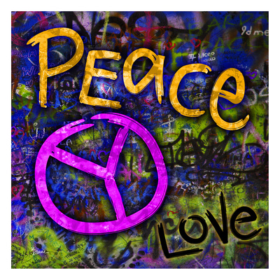 Graffiti Peace Posters by Diane Stimson