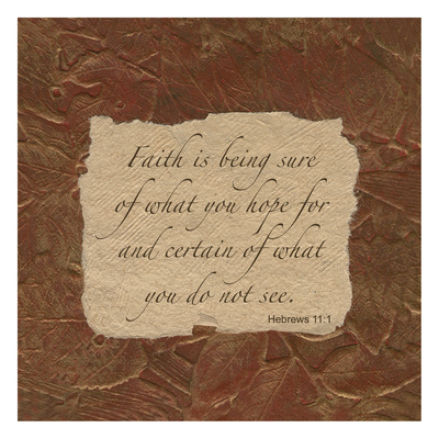 Hebrews Faith Prints by Smith Haynes