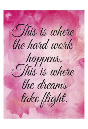 Dreams in Flight Print by Melody Hogan