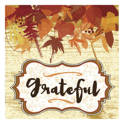 Grateful Autumn Posters by Melody Hogan
