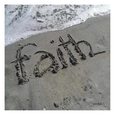 Coastal Faith Print by Diane Stimson